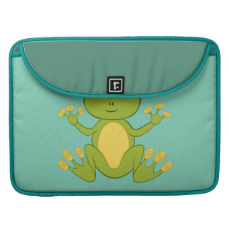 Animated Frog Sleeves For MacBook Pro