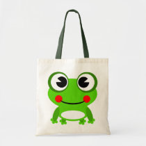 Animated Frog Tote Bag