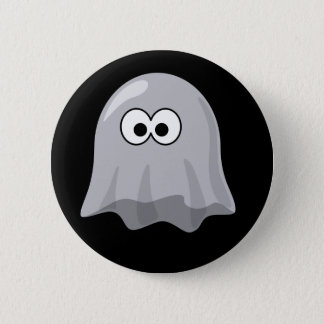 Animated Ghost Pinback Button
