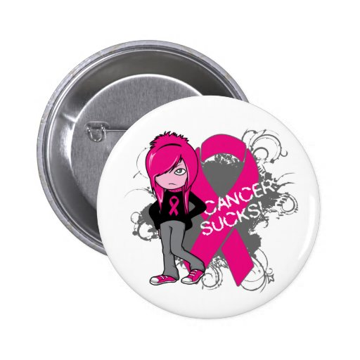 Animated Girl Breast Cancer Sucks Buttons