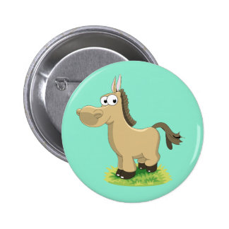 Animated Horse Button 2 Inch Round Button