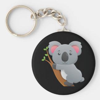 Animated Koala Bear Keychain