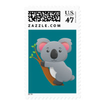 Animated Koala Bear Postage