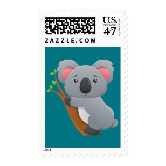 Animated Koala Bear Postage