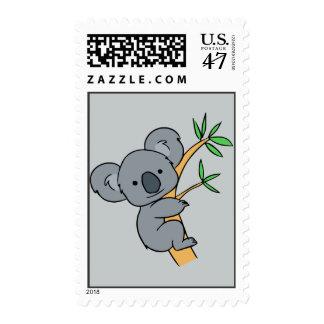 Animated Koala Bear Stamp