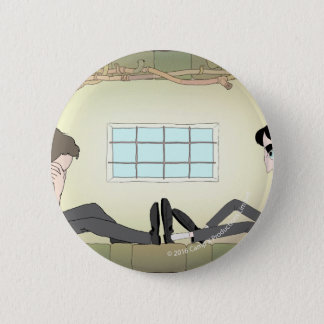 """Animated """"Night Will End"""" Pinback Button"""