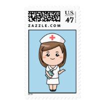Animated Nurse Stamp