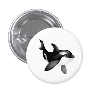 Animated Orca Whale button
