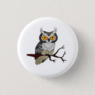 Animated Owl Button