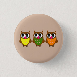 Animated Owls Button
