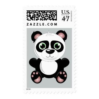 Animated Panda Bear Stamp