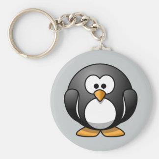 Animated Penguin keychain