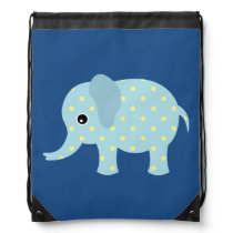 Animated Polka Dot Elephant Backpack