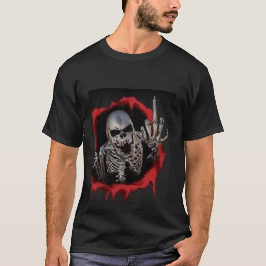 Animated-Skull T-Shirt