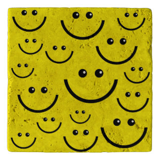 Animated Smiley faces Trivet