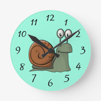 Animated Snail Clock