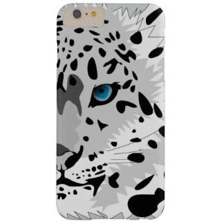 Animated Snow Leopard Barely There iPhone 6 Plus Case