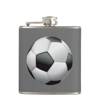 Animated Soccer Ball Flask
