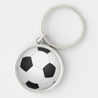 Animated Soccer Ball Keychain
