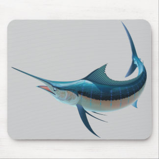 Animated Swordfish Mouse Pad