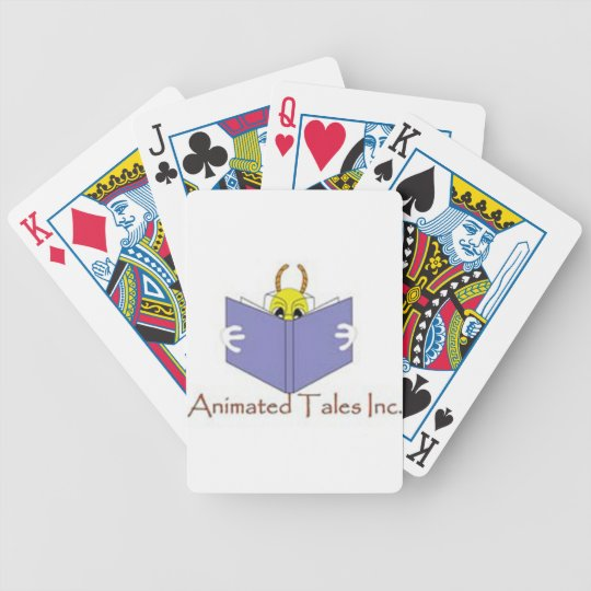 Animated Tales Inc Playing Cards