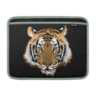 Animated Tiger Face MacBook Air Sleeve