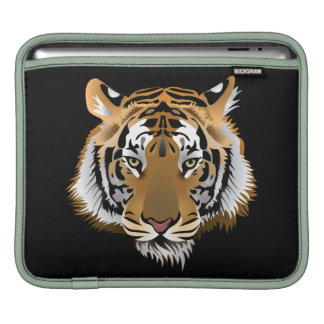 Animated Tiger Face Sleeve For iPads