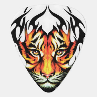 Animated Tiger Guitar Pick