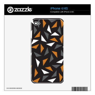 Animated triangles skins for the iPhone 4