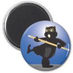 Animation Beaver Magnet