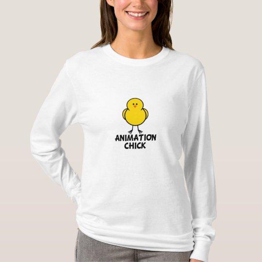 Animation Chick T-Shirt