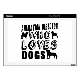 animation director Who Loves Dogs Decals For Laptops