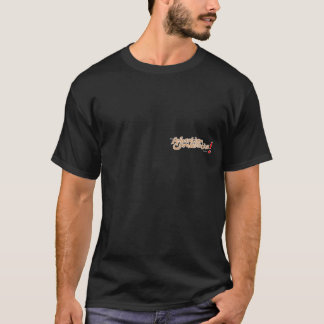 Animation is concentration on back T-Shirt