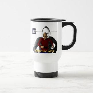 Animation Man Travel Mug