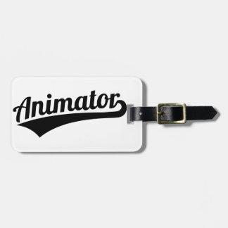 Animator Bag Tag
