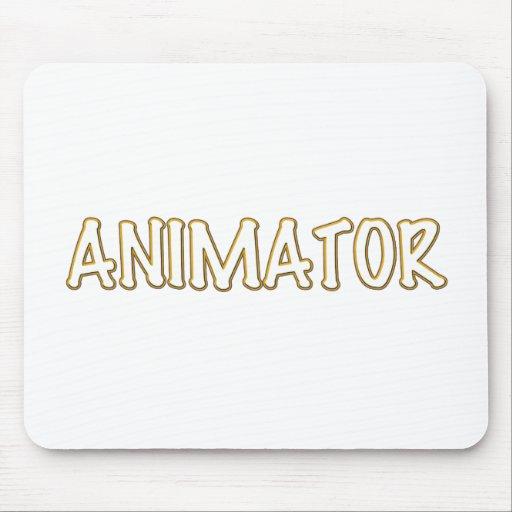 Animator Pride Yellow Design Mousepad