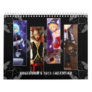 Anime 2012 wall calendars