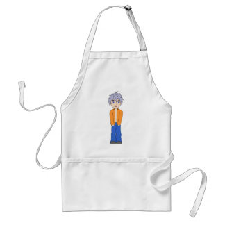 anime adult apron