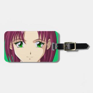 Anime and Manga Faces Luggage Tag