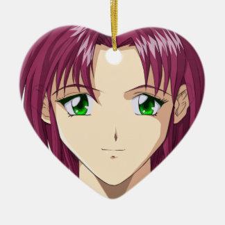 Anime and Manga Faces Ornaments
