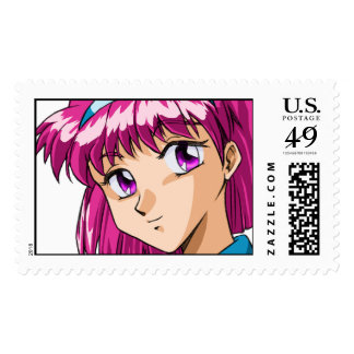 Anime and Manga Faces Postage