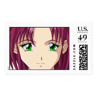 Anime and Manga Faces Postage