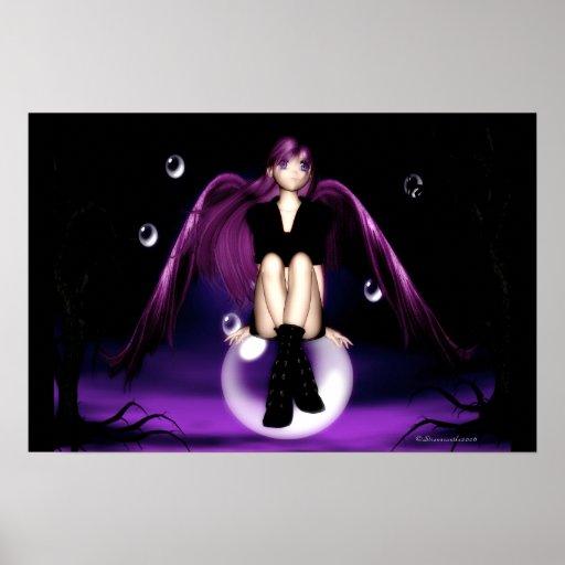 Anime Angel Poster