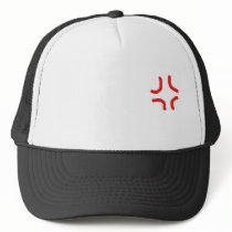 Anime ANGRY Hat