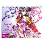 Anime art 2012 calendar