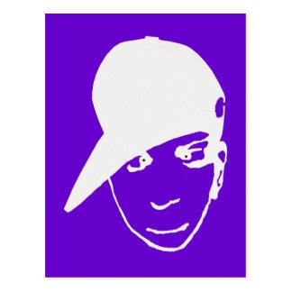 Anime B-boy. Hip Hop Gear Postcard