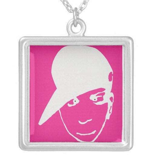 Anime B-Boy Pink Necklace