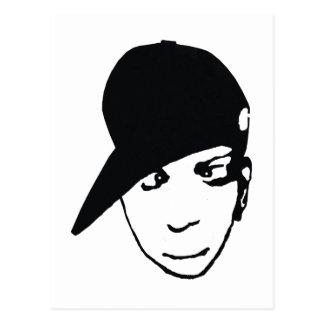 Anime B-Boy Postcard
