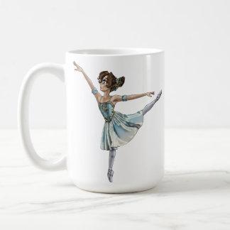 Anime Ballerina Bug Classic White Coffee Mug