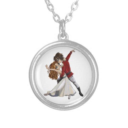Anime Ballet Necklace